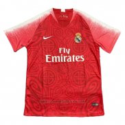 Camiseta Real Madrid Edicion Limitada 2018 2019 Rojo